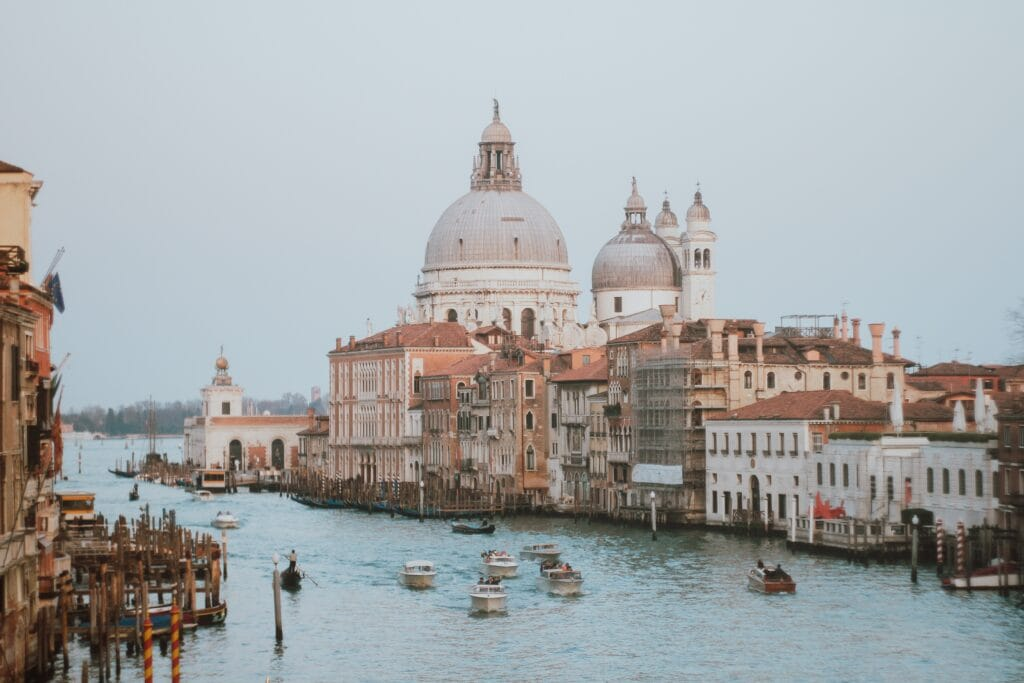 Gran Canale in Venice, Italy - One of the most beautiful elopement locations in Italy